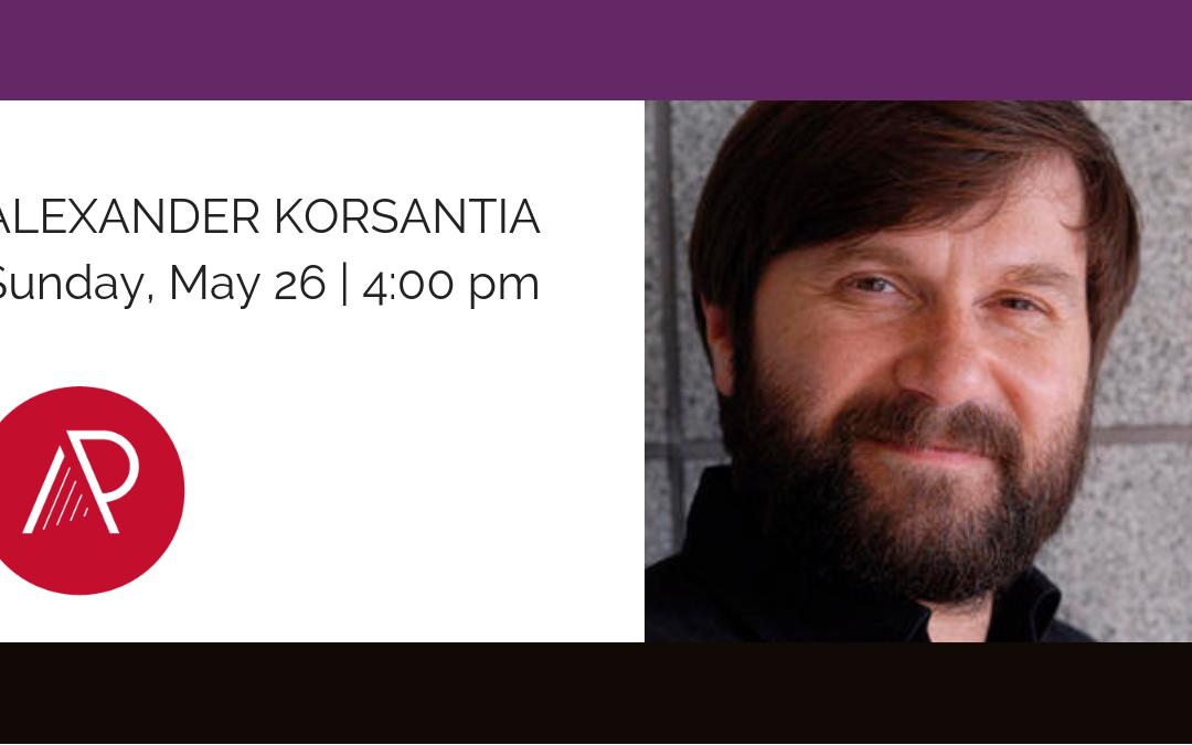Alexander Korsantia – Concert