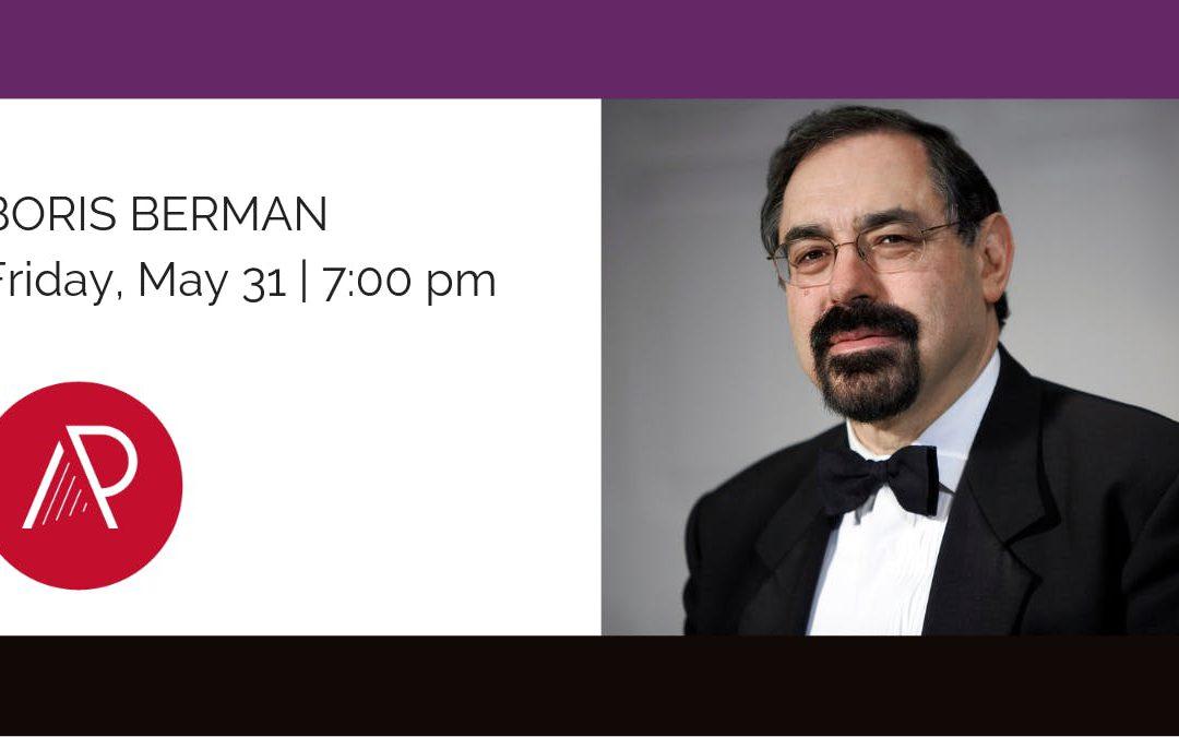 Boris Berman – 2019 Concert